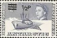 [Antarctic Research - Issues of 1963 Surcharged, Typ A1]