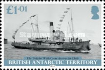 [The 100th Anniversary of the Imperial Trans-Antarctic Expedition, Typ AAQ]