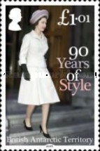 [The 90th Anniversary of the Birth of Queen Elizabeth II, Typ AAT]