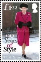 [The 90th Anniversary of the Birth of Queen Elizabeth II, Typ AAU]