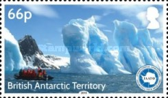 [The 25th Anniversary of the IAATO - International Association of Antarctica Tour Operators, Typ AAW]