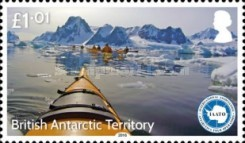[The 25th Anniversary of the IAATO - International Association of Antarctica Tour Operators, Typ AAY]