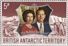 [The 25th Wedding Anniversary of Queen Elizabeth II and Prince Philip, Typ AB]