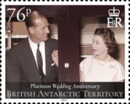 [The 70th Anniversary of the Wedding of Queen Elizabeth II and Prince Philip, Typ ACZ]