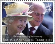 [The 70th Anniversary of the Wedding of Queen Elizabeth II and Prince Philip, Typ ADB]