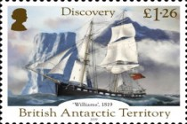 [The 200th Anniversary of the Discovery of Antarctica, type AEK]