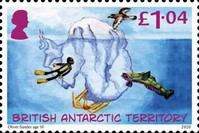 [The 200th Anniversary of the Discovery of Antarctica - Children's Art, type AFF]