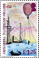[The 200th Anniversary of the Discovery of Antarctica - Children's Art, type AFG]