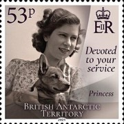[Devoted to Your Service - The 95th Anniversary of the Birth of Queen Elizabeth II, type AFL]