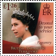 [Devoted to Your Service - The 95th Anniversary of the Birth of Queen Elizabeth II, type AFP]