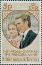 [Wedding of Princess Anne to Mark Phillips, Typ AT]