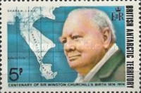 [The 100th Anniversary of the Birth of Winston Churchill, 1874-1965, Typ AU]