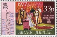 [The 25th Anniversary of the Coronation of Queen Elizabeth II, type BD]