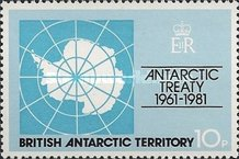 [The 20th Anniversary of the Antarctic Treaty, Typ BT]
