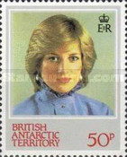 [The 21st Anniversary of the Birth of Princess Diana, 1961-1997, Typ CG]