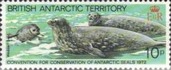 [The 10th Anniversary of the Contract for the Protection of Antarctic Seals, Typ CI]