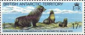 [The 10th Anniversary of the Contract for the Protection of Antarctic Seals, Typ CL]