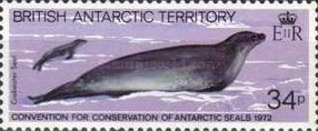 [The 10th Anniversary of the Contract for the Protection of Antarctic Seals, Typ CN]