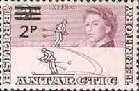 [Antarctic Research - Issues of 1963 Surcharged, Typ D1]