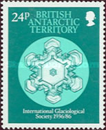 [The 50th Anniversary of the International Glaciological Society - Snow Crystals, Typ DY]