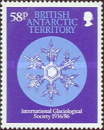 [The 50th Anniversary of the International Glaciological Society - Snow Crystals, Typ EA]