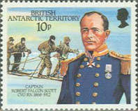 [The 75th Anniversary of the Arrival of Robert Falcon Scott at the South Pole, Typ EB]