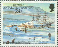 [The 75th Anniversary of the Arrival of Robert Falcon Scott at the South Pole, Typ EC]