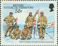 [The 75th Anniversary of the Arrival of Robert Falcon Scott at the South Pole, Typ EE]