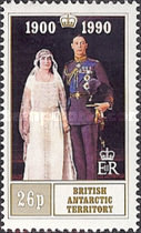 [The 90th Anniversary of the Birth of Queen Elizabeth The Queen Mother, 1900-2002, Typ FI]