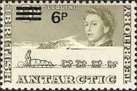 [Antarctic Research - Issues of 1963 Surcharged, Typ I1]