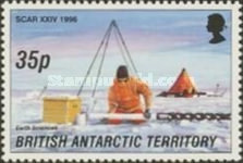 [The 24th Anniversary of the Conference for the International Scientific Committee for Antarctic Research - Cambridge, England, Typ IC]