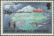 [The 24th Anniversary of the Conference for the International Scientific Committee for Antarctic Research - Cambridge, England, type IE]