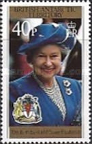 [The 70th Anniversary of the Birth of Queen Elizabeth II, Typ IR]