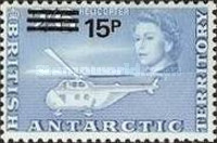 [Antarctic Research - Issues of 1963 Surcharged, Typ M1]