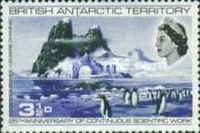 [The 25th Anniversary of the Permanent Scientific Research in the Antarctic, Typ S]