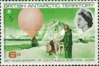 [The 25th Anniversary of the Permanent Scientific Research in the Antarctic, Typ T]