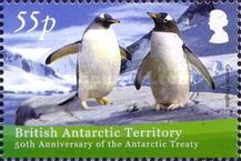 [The 50th Anniversary of the Antarctic Treaty, Typ TI]