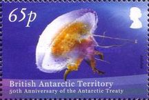 [The 50th Anniversary of the Antarctic Treaty, Typ TK]