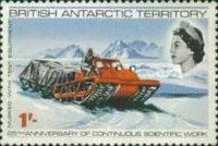 [The 25th Anniversary of the Permanent Scientific Research in the Antarctic, Typ U]