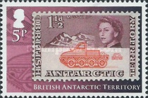 [The 50th Anniversary of British Antarctic Territory Stamps - Antarctic Research, Typ XH]
