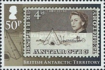 [The 50th Anniversary of British Antarctic Territory Stamps - Antarctic Research, Typ XL]