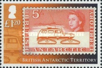 [The 50th Anniversary of British Antarctic Territory Stamps - Antarctic Research, Typ XR]