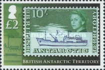 [The 50th Anniversary of British Antarctic Territory Stamps - Antarctic Research, Typ XS]