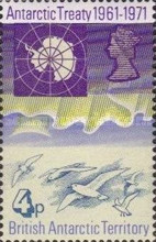 [The 10th Anniversary of the Antarctic Treaty, Typ Y]