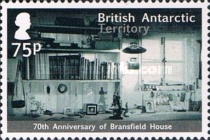 [The 70th Anniversary of the Bransfield House, Typ YK]