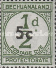 [Numeral Stamp - Surcharged New Value, type B7]