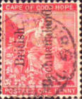 [Cape of Good Hope Postage Stamps Overprinted - Dot after
