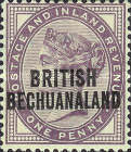 [Great Britain Postage Stamps Overprinted, type Q]