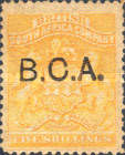 "[South Africa Company Stamps Overprinted ""B.C.A."", type A11]"