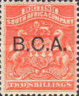"[South Africa Company Stamps Overprinted ""B.C.A."", type A7]"